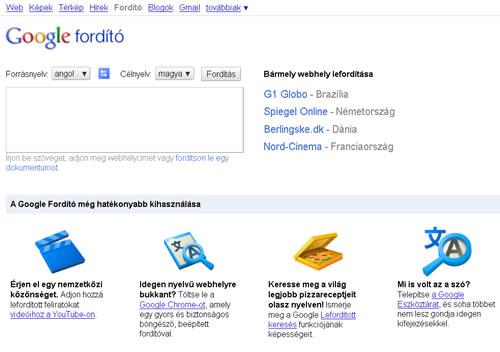 Google Fordító  Wikipédia